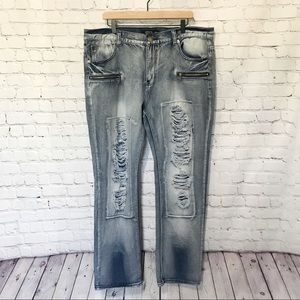 Trestle Supply Co Distressed Jeans Size 40 waist
